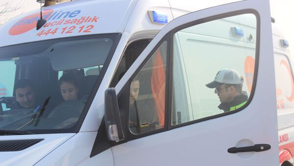 15 Temmuz Şehitler Köprüsü'nde 'özel' ambulans denetimi - Sputnik Türkiye