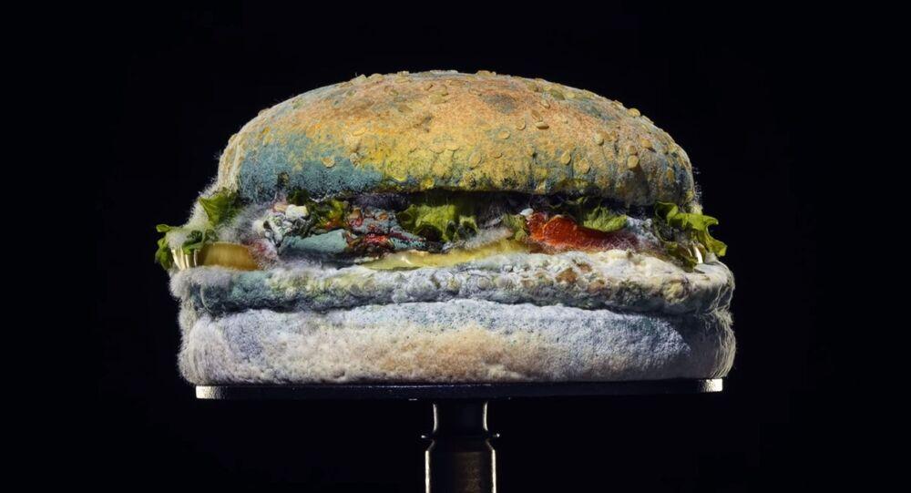 Küflü Whopper, Burger King
