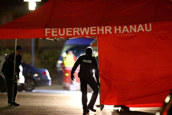 Hanau'da silahlı saldırı - Sputnik Türkiye