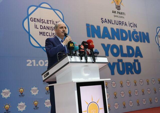 AK Parti Genel Başkanvekili Numan Kurtulmuş, Şanlıurfa'daki temasları kapsamında, partisinin GAPTEM konferans salonunda gerçekleştirilen, Genişletilmiş İl Danışma Meclisi toplantısına katıldı. Kurtulmuş, toplantıda konuştu.