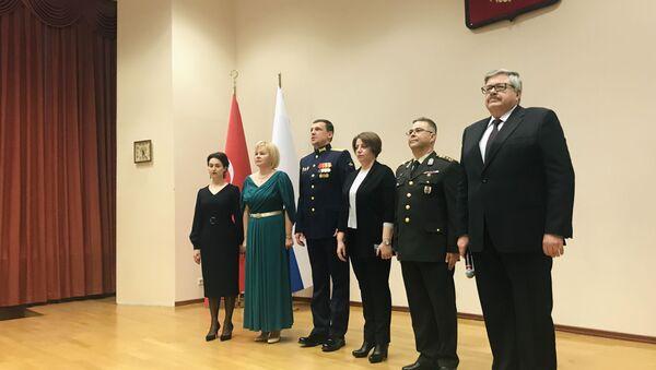 Rusya Silahlı Kuvvetler Günü nedeniyle Ankara'da resepsiyon verildi - Sputnik Türkiye