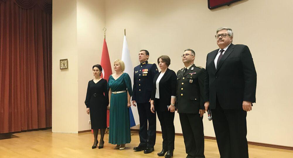 Rusya Silahlı Kuvvetler Günü nedeniyle Ankara'da resepsiyon verildi