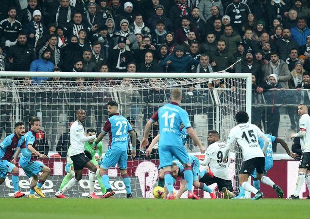 Beşiktaş, Süper Lig'in 23. haftasında Trabzonspor ile Vodafone Park'ta karşılaştı.