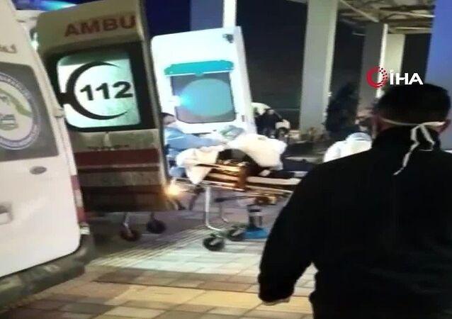Van'da İran'dan giriş yapan 3 Türk vatandaşı, yüksek ateş görülmesi sebebiyle şüpheli olarak hastanede tedavi altına alındı