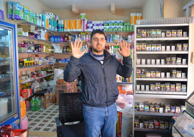 Beş kişinin gasp ettiği market sahibi Hasan Özkaya