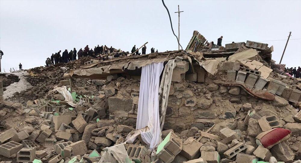Van- İran- Deprem