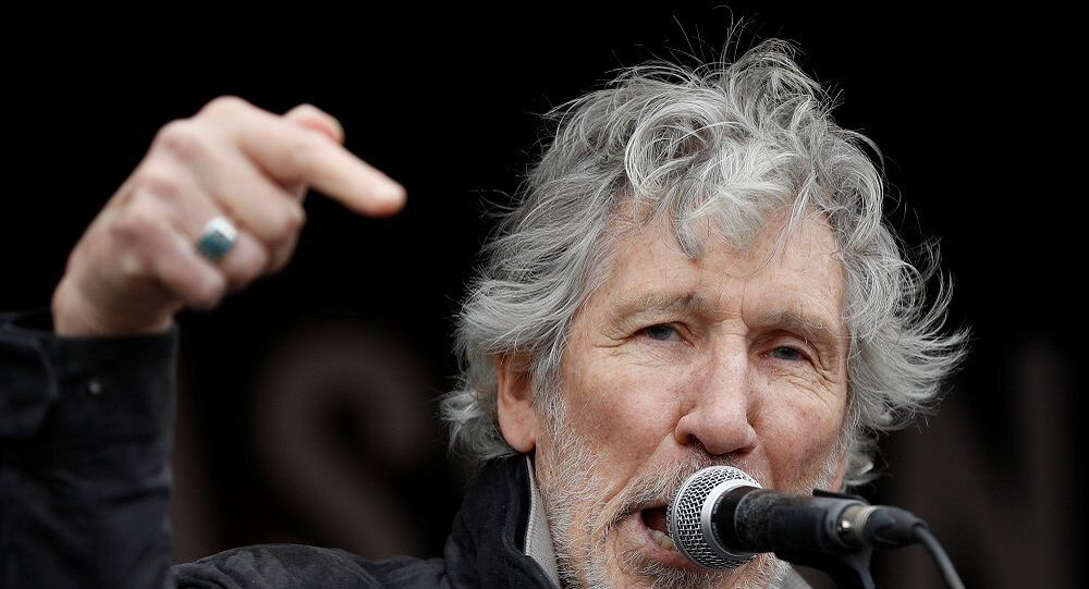 İngiliz rock grubu Pink Floyd'un solisti Roger Waters