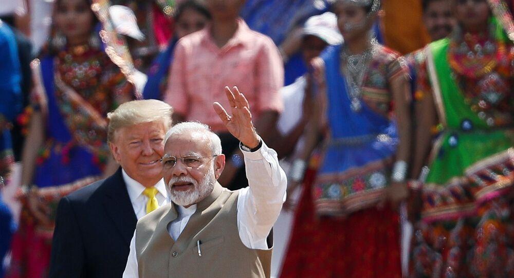 Trump'ın Hindistan ziyareti, Trump-Modi