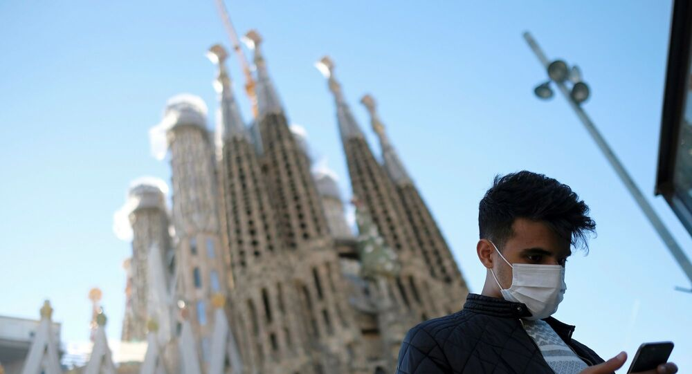 İspanya - Barselona - koronavirüs