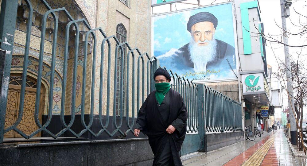 İran - İran'ın Kum kentinde koronavirüs önlemleri