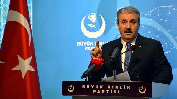 Mustafa Destici - Sputnik Türkiye