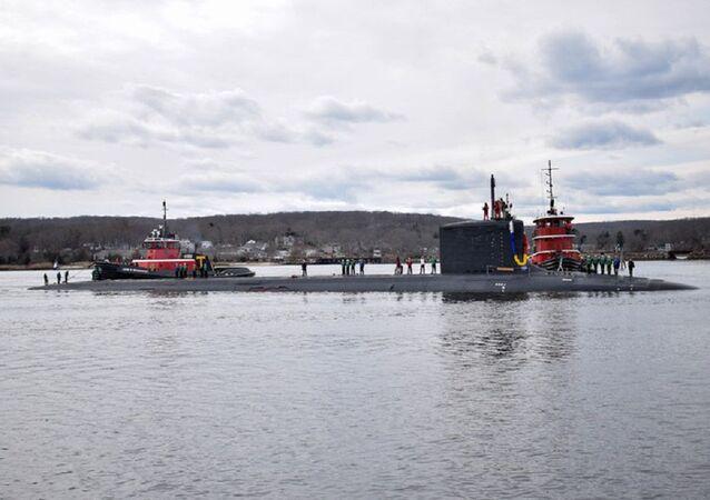 ABD'nin en yeni denizaltı ilk seferinden kaplamasız döndü