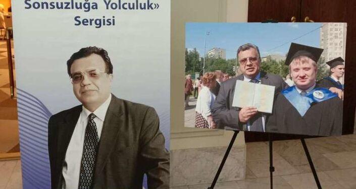 Forum kapsamında düzenlenen 'A. Karlov. Sonsuzluğa yolculuk' sergisi