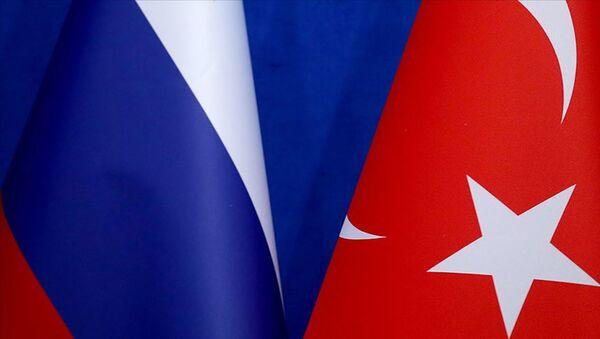 Türkiye Rusya bayrakları - Sputnik Türkiye