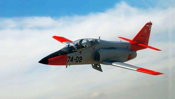 İspanya Hava Kuvvetlerine bağlı 'C-101' tipi askeri uçak - Sputnik Türkiye