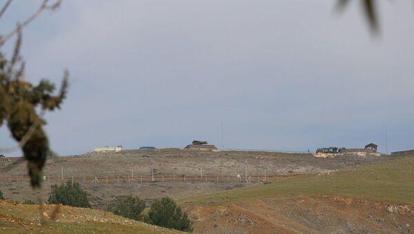 Hatay sınırı, füze rampalarının yönü Suriye'ye çevrildi - Sputnik Türkiye