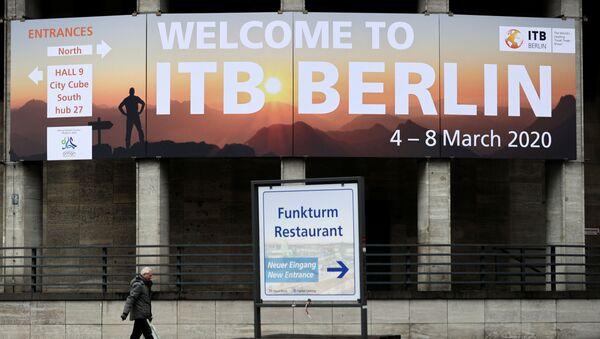 Uluslararası Berlin Turizm Borsası Fuarı - Sputnik Türkiye