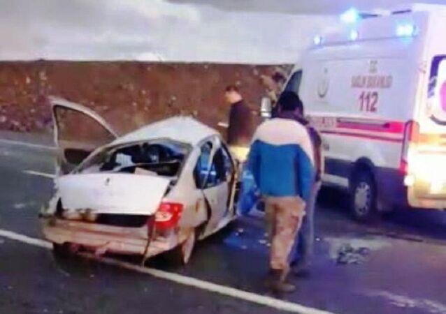 Şanlıurfa'da bir sürücü köpeğe çarpmamak için manevra yaptı, 1 kişi öldü
