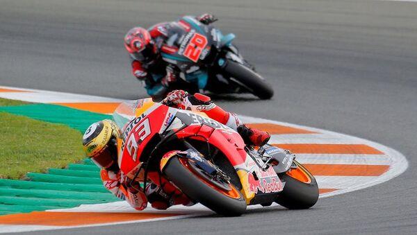 MotoGP'nin Katar'daki açılış etabı, koronavirüs nedeniyle iptal edildi - Sputnik Türkiye