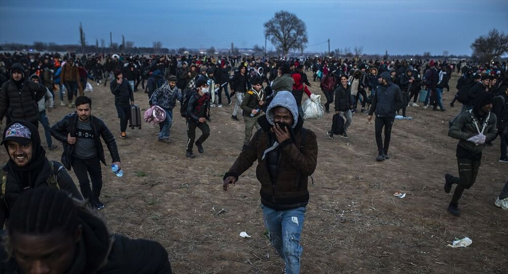Türkiye'den Yunanistan'a geçmek isteyen sığınmacılar