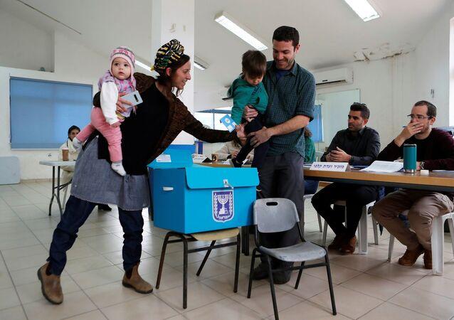 israil - seçim