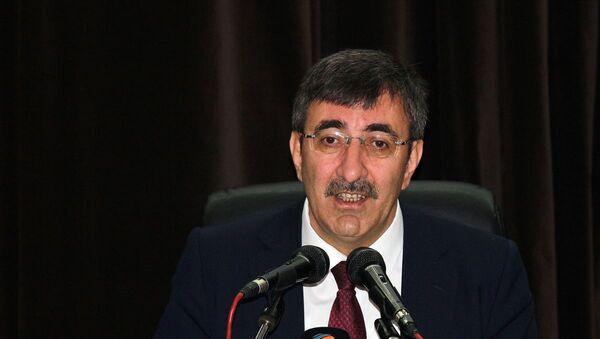 AK Parti Genel Başkan Yardımcısı Cevdet Yılmaz, - Sputnik Türkiye