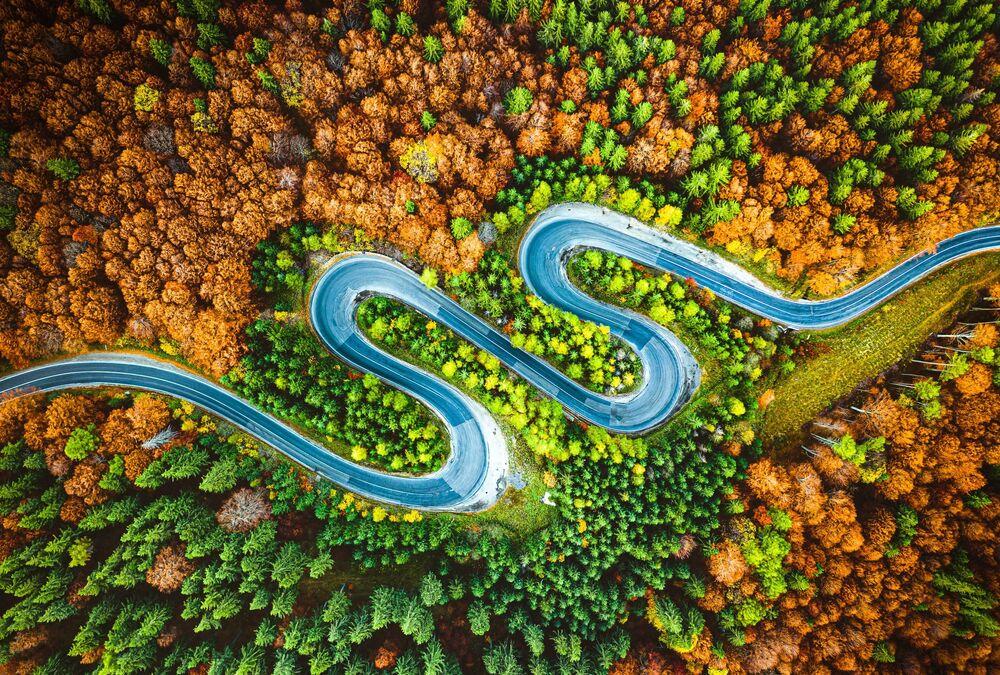 2020 Sony Dünya Fotoğrafçılık Ödülleri'nde Letonya Ulusal Ödülü'nü kazanan Arvids Baranovs'un Romanya'daki dağlık manzarası.