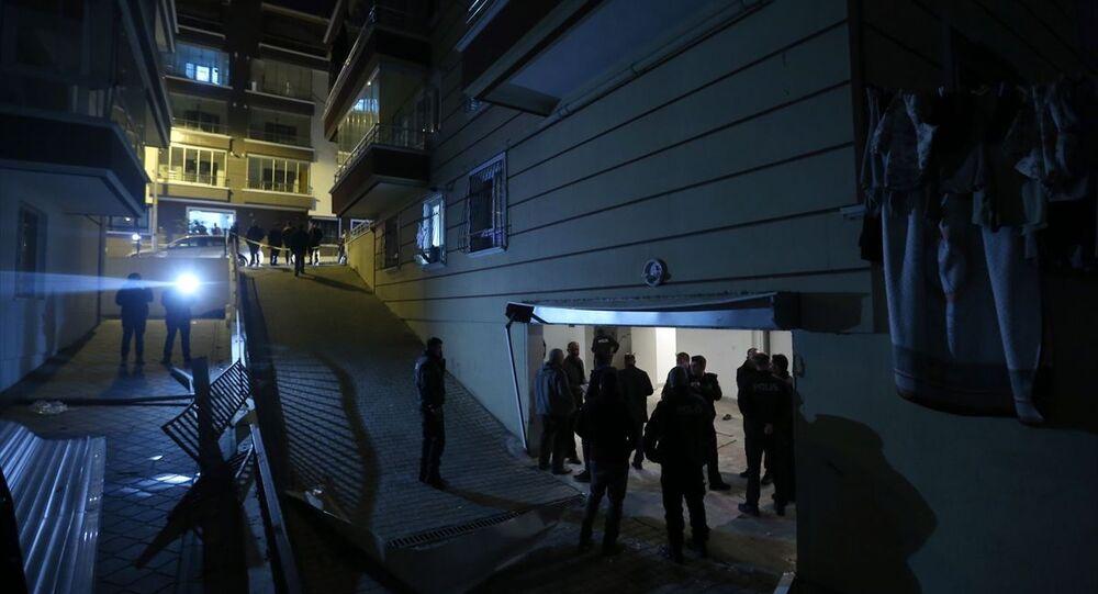 Ankara'da apartman garajında patlama