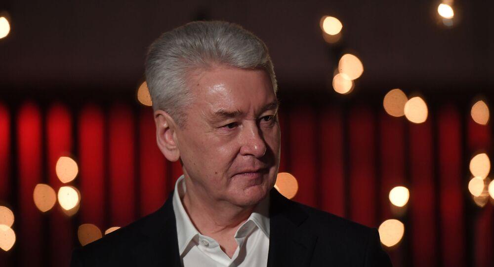 Moskova Belediye Başkanı Sergey Sobyanin