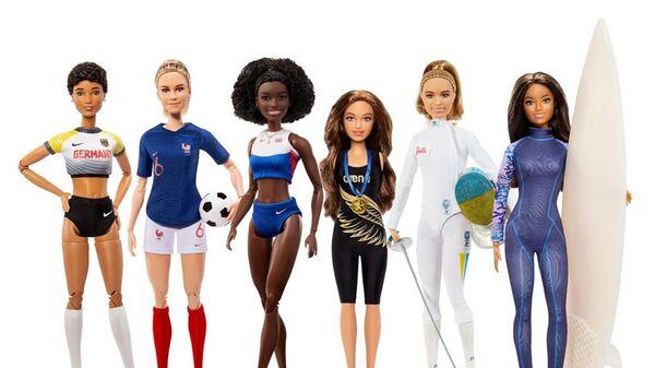 Türkiye'den seçilen Barbie rol modeli milli atlet Sümeyye Boyacı oldu - Sputnik Türkiye