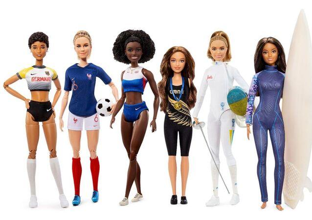 Türkiye'den seçilen Barbie rol modeli milli atlet Sümeyye Boyacı oldu