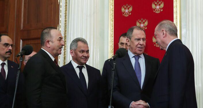 Moskova'daki zirve, Recep Tayyip Erdoğan-Sergey Lavrov