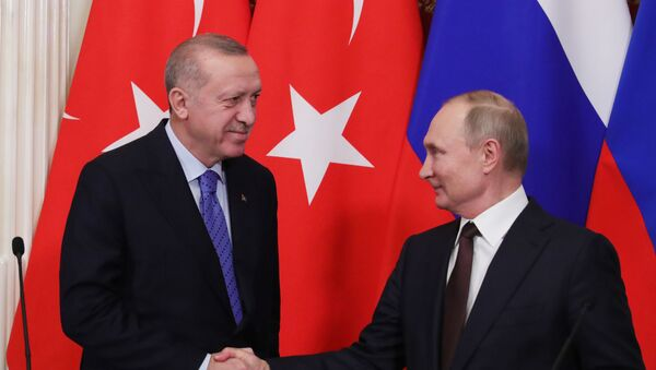 Erdoğan, Putin - Sputnik Türkiye