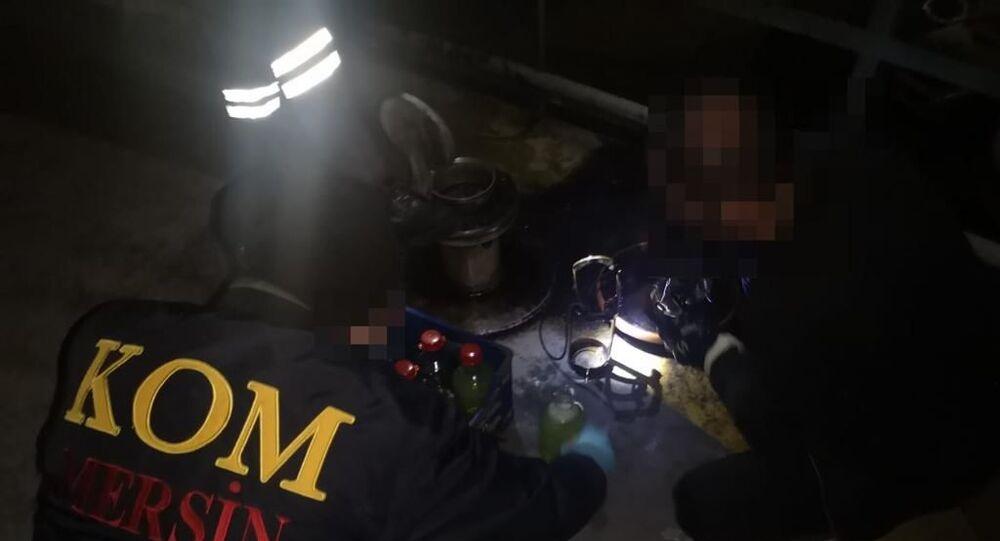 Konya ve Mersin'de 5,2 milyon litre kaçak akaryakıt ele geçirildi
