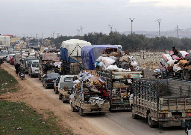 Halep çıkışı