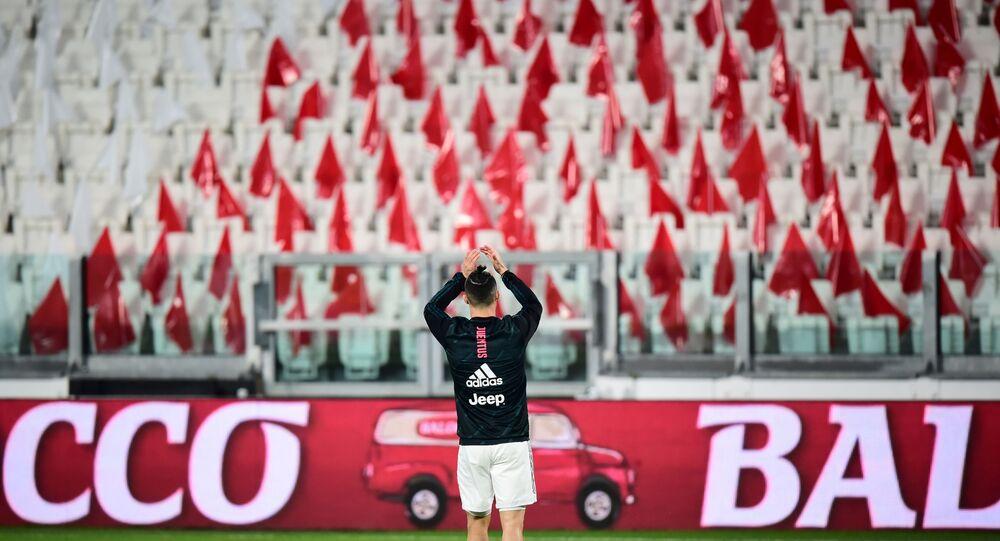 Juventus'ta forma giyen Cristiano Ronaldo