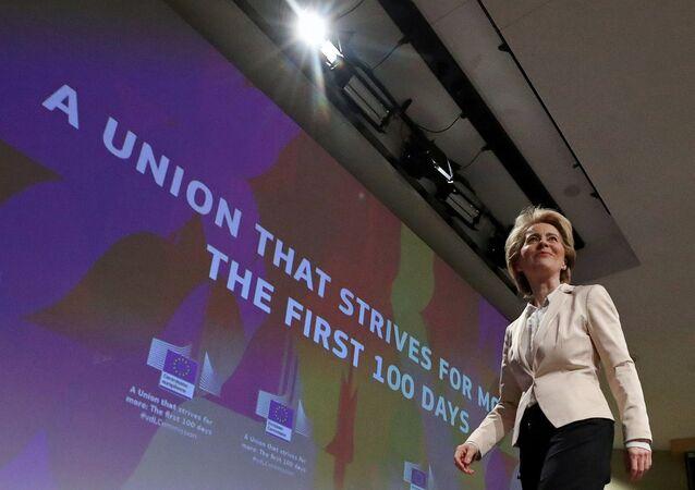 Avrupa Birliği (AB) Komisyonu Başkanı Ursula von der Leyen