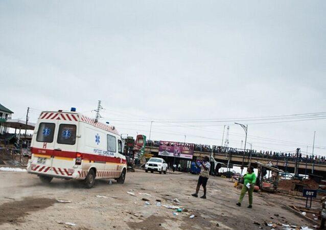 Gana'da 2 otobüs çarpıştı