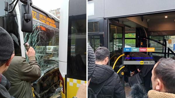 İstanbul Haliç'te metrobüs kazası - Sputnik Türkiye