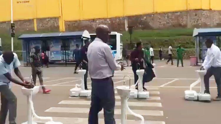 Ruanda - Koronavirüs önlemi