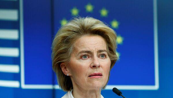 AB Komisyonu Başkanı Ursula von der Leyen - Sputnik Türkiye