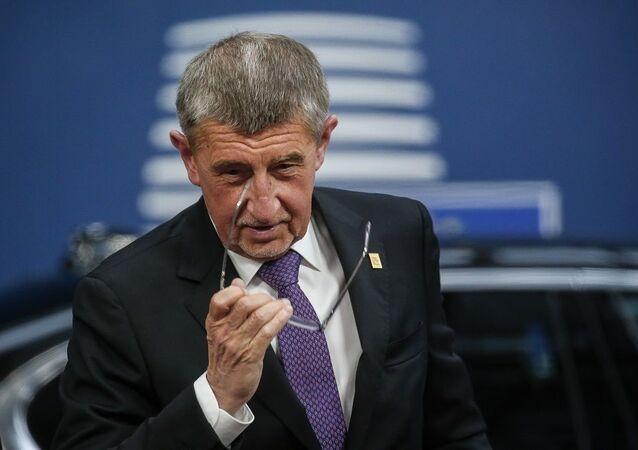 Çekya Başbakanı Andrej Babis