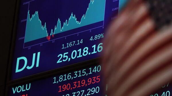 ABD New York borsası - Dow Jones İndeksi - Wall Street - Sputnik Türkiye
