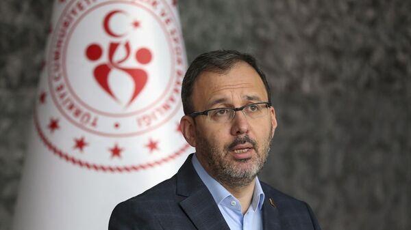 Gençlik ve Spor Bakanı Mehmet Muharrem Kasapoğlu - Sputnik Türkiye