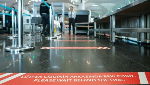 İstanbul Havalimanı'nda 'Kırmızı Bant' uygulaması - Sputnik Türkiye