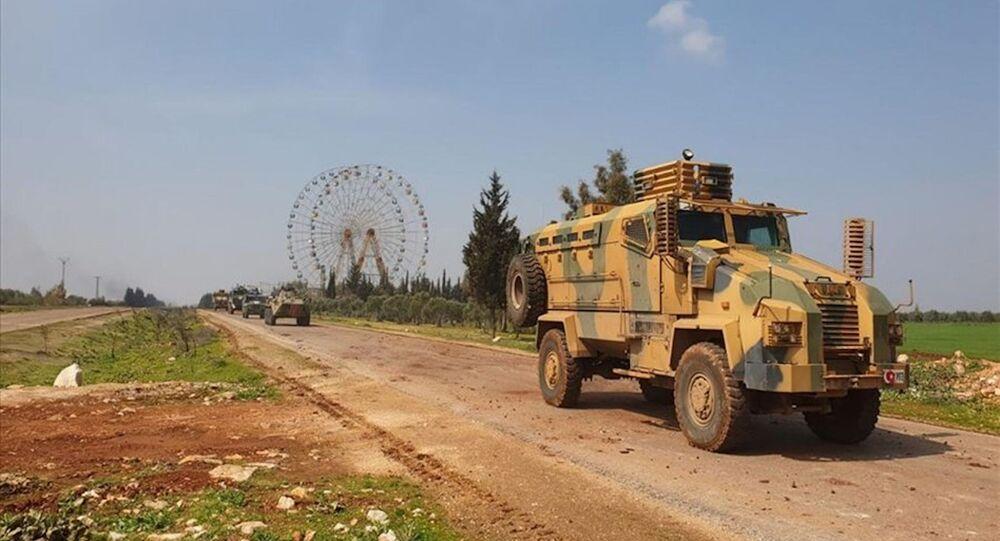 M4 karayolunda ilk Türk-Rus ortak devriyesi