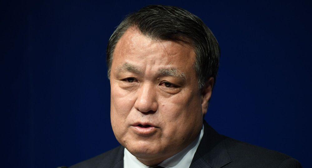 Japonya Futbol Federasyonu Başkanı Kozo Tashima