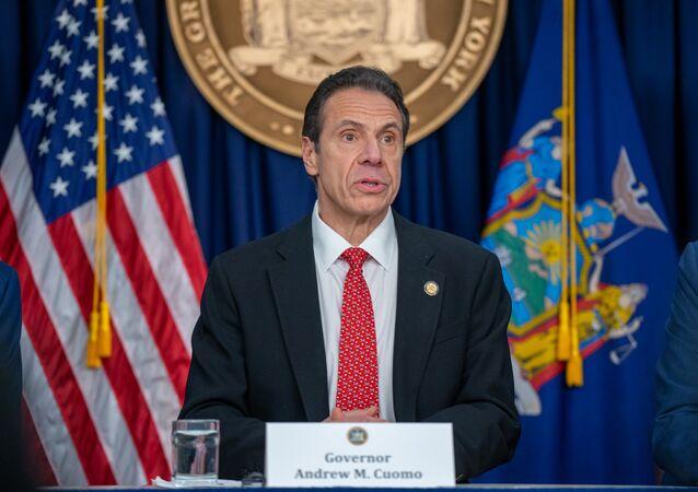 New York Valisi Andrew Cuomo
