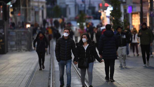 Koronavirüs - İstiklal Caddesi - İstanbul - Sputnik Türkiye