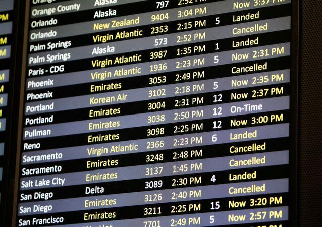 ABD'de uçuş iptalleri
